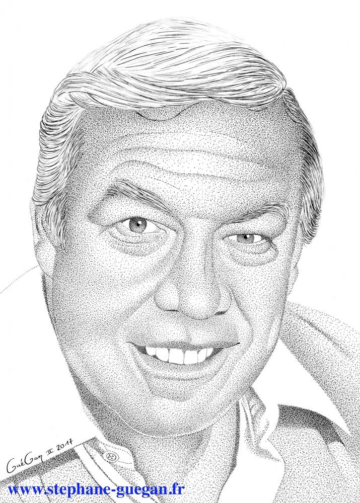 George Kennedy par GUEGAN